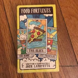 Other - Food fortunes cards (new, sealed in box!)